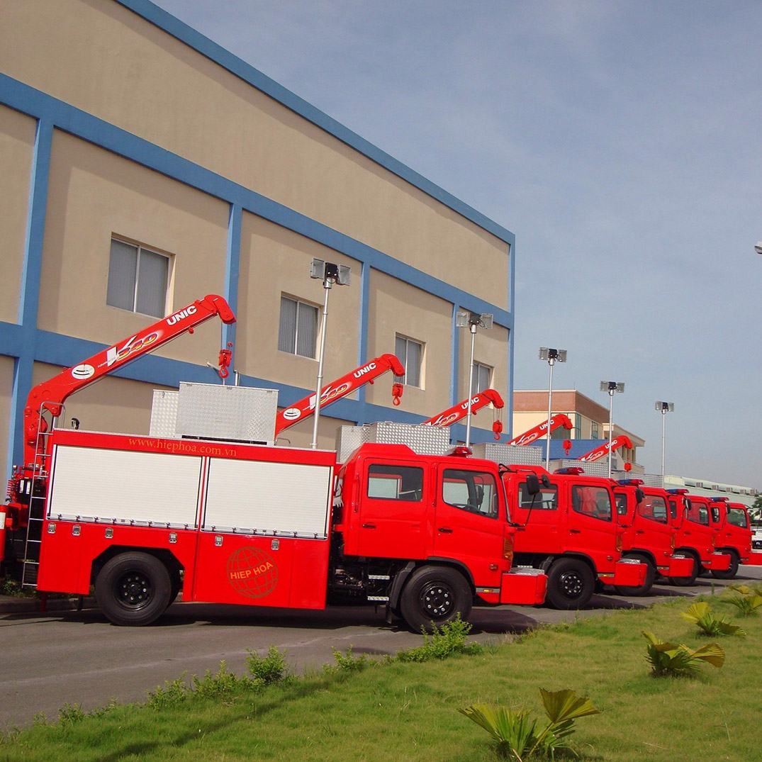 Specialized fire protection equipment